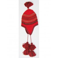 Peruvian Hats - Chullo with pompom