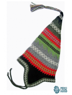 Gross earflap cap with andean design